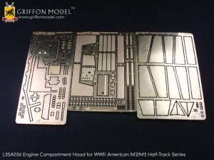 Engine Compartment Hood for M2/M3 Half-T  (Vista 6)