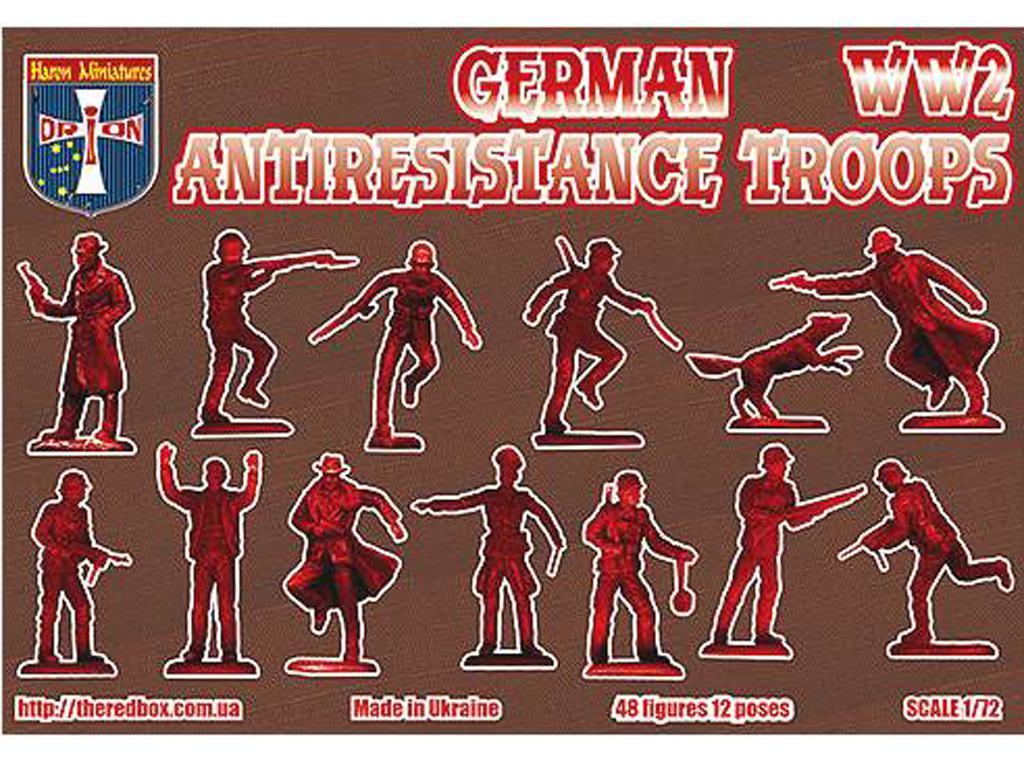 Tropas Alemanas contra la Resistencia (Vista 2)