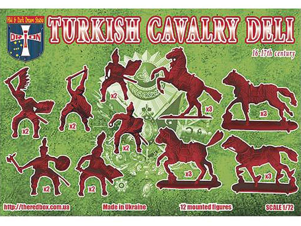 Caballería Turca Siglo 16-17 (Vista 2)