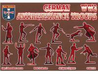 Tropas Alemanas contra la Resistencia (Vista 4)