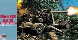 Cañon Aleman 88 mm Gun Flak 36  (Vista 1)