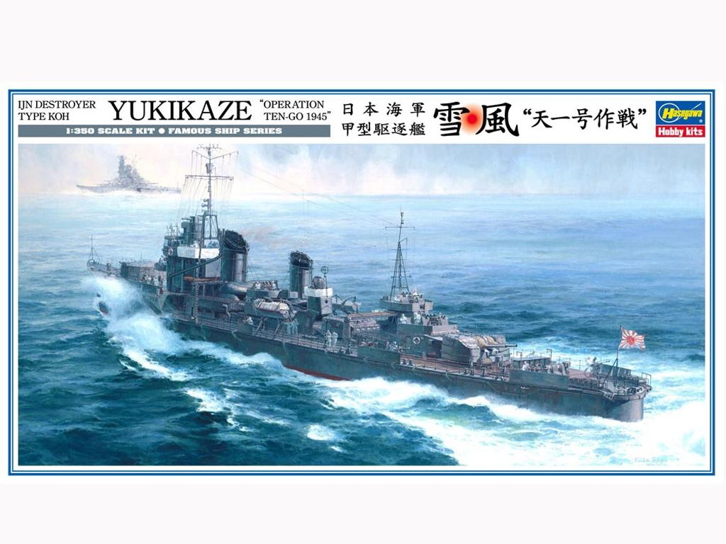 Yukikaze Operation Ten-Go 1945  (Vista 1)