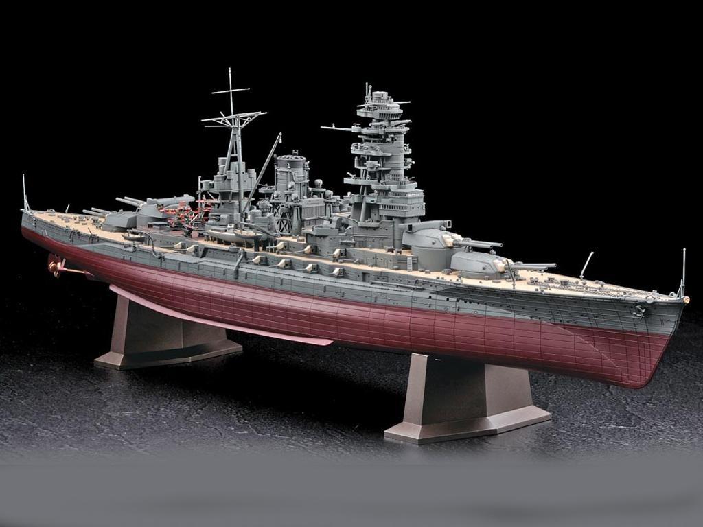 IJN Battleship Nagato 1941  (Vista 2)