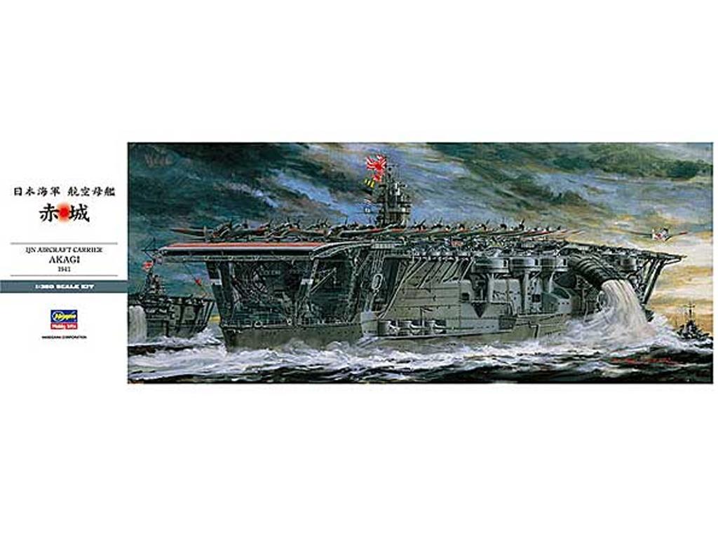 IJN Aircraft Carrier Akagi  (Vista 1)