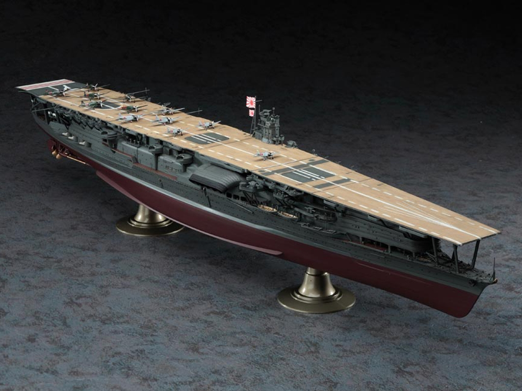 IJN Aircraft Carrier Akagi  (Vista 3)