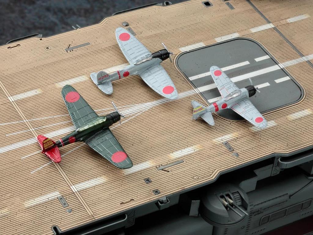 IJN Aircraft Carrier Akagi  (Vista 9)