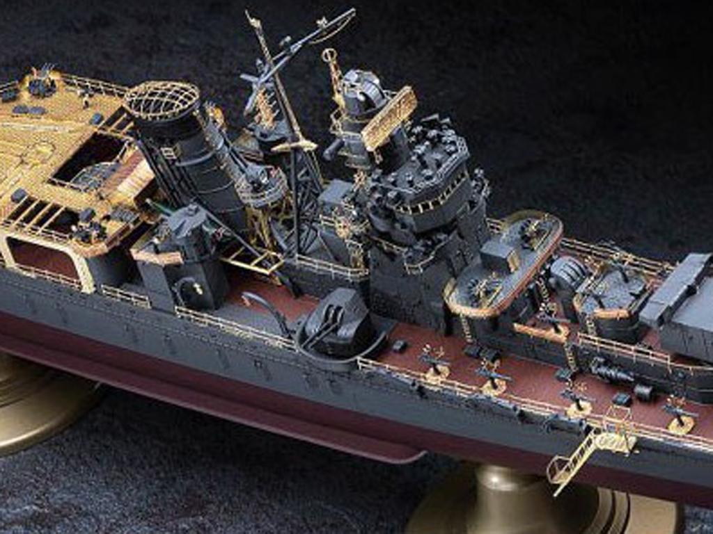 IJN Light Cruiser Yahagi 1945  (Vista 10)