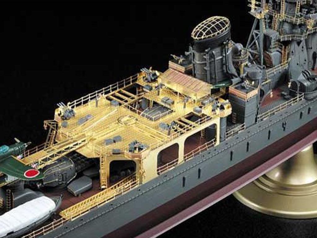 IJN Light Cruiser Yahagi 1945  (Vista 4)