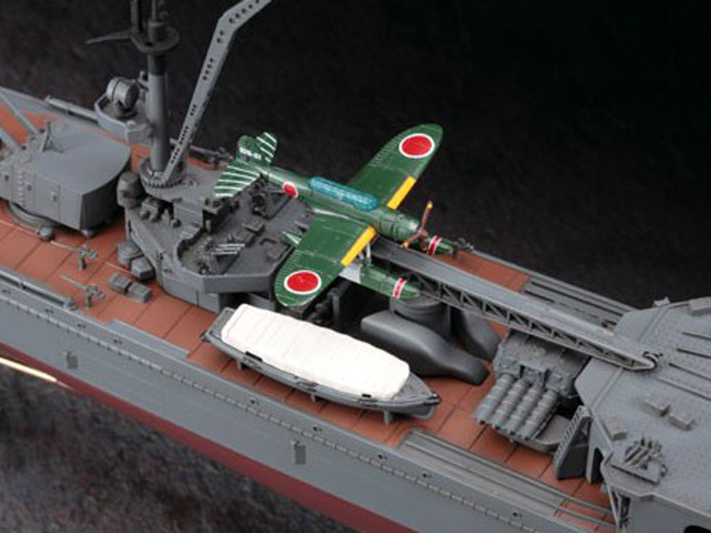 IJN Light Cruiser Yahagi 1945  (Vista 6)