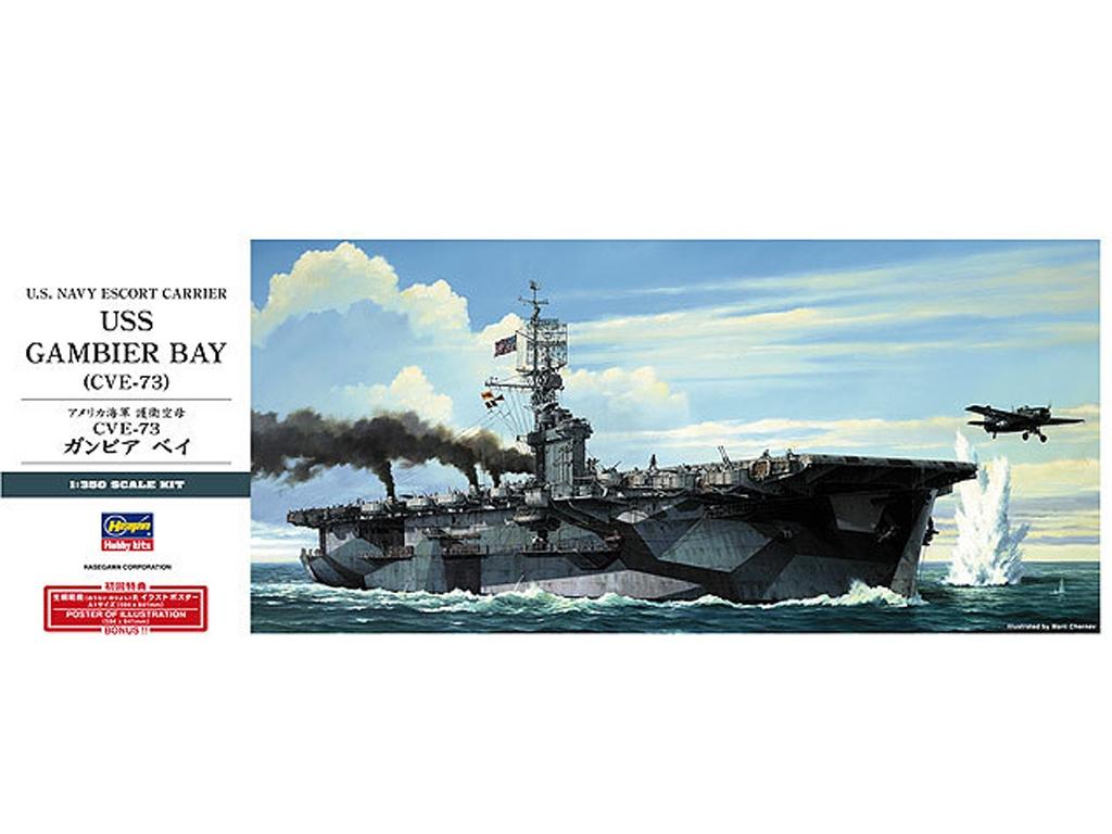 U.S. Navy Escort Carrier USS Gambier Bay  (Vista 1)