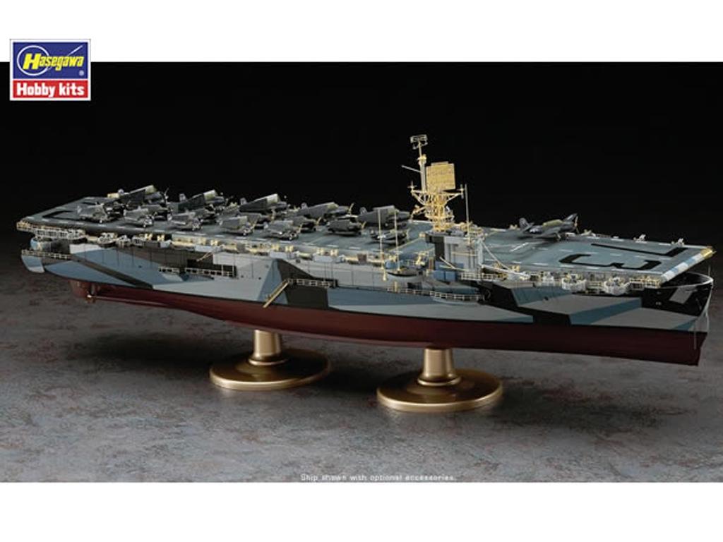 U.S. Navy Escort Carrier USS Gambier Bay  (Vista 2)