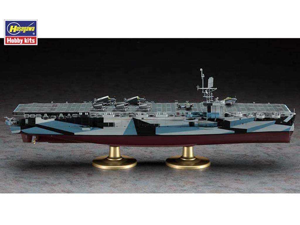 U.S. Navy Escort Carrier USS Gambier Bay  (Vista 3)