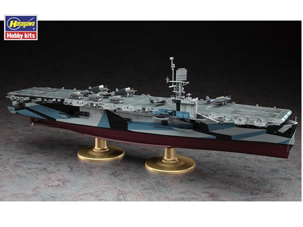 U.S. Navy Escort Carrier USS Gambier Bay  (Vista 4)