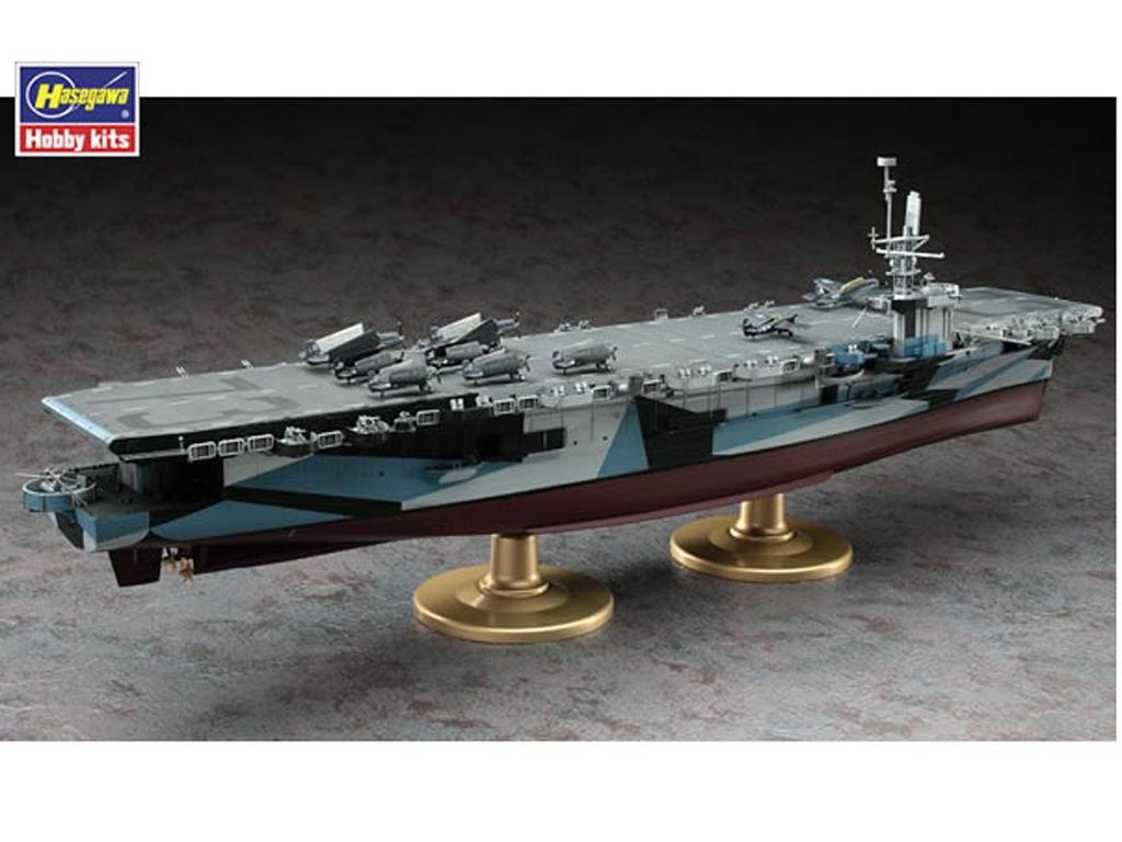 U.S. Navy Escort Carrier USS Gambier Bay  (Vista 5)