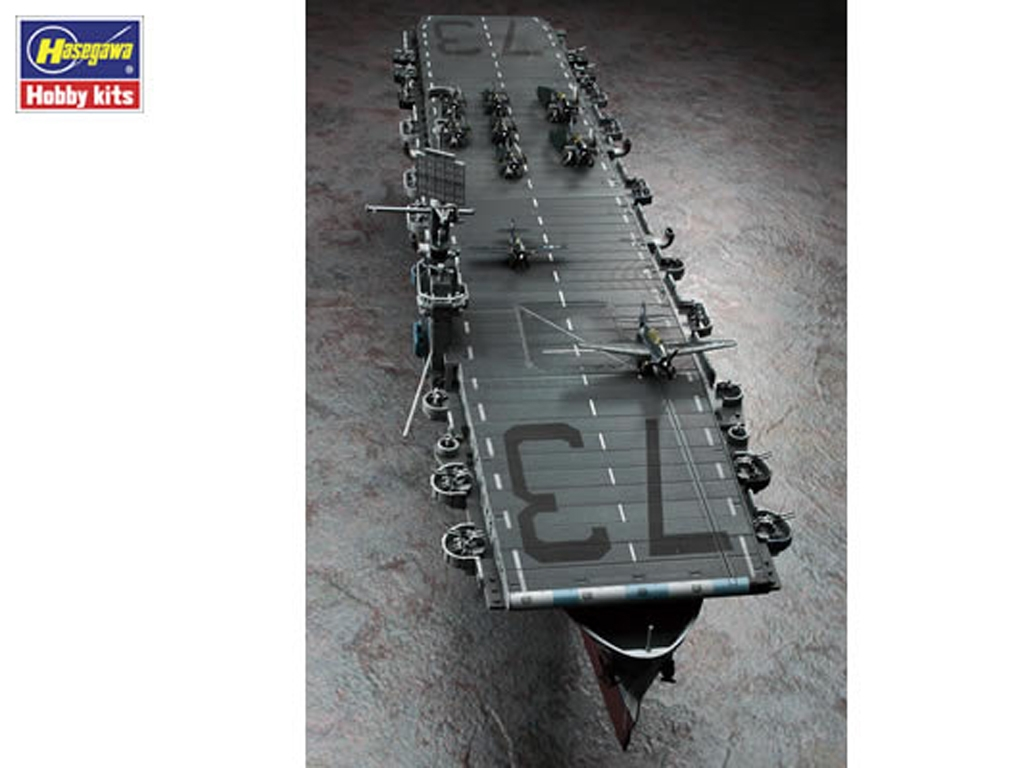 U.S. Navy Escort Carrier USS Gambier Bay  (Vista 6)