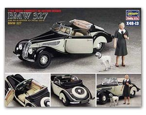 BMW 327 w/Woman Figure  (Vista 1)