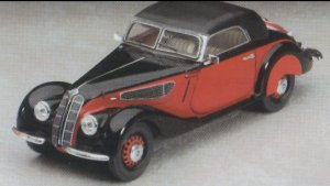 BMW 327 w/Woman Figure  (Vista 2)