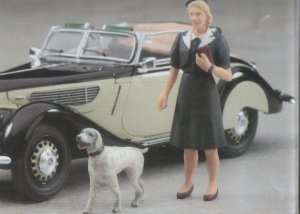 BMW 327 w/Woman Figure  (Vista 6)