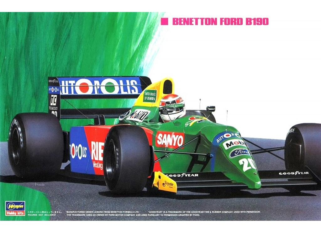 Benetton B190 (Vista 1)