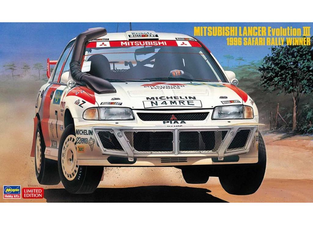 Mitsubishi Lancer Evolution III 1996  (Vista 1)