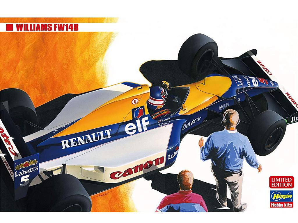 Williams FW14B (Vista 1)