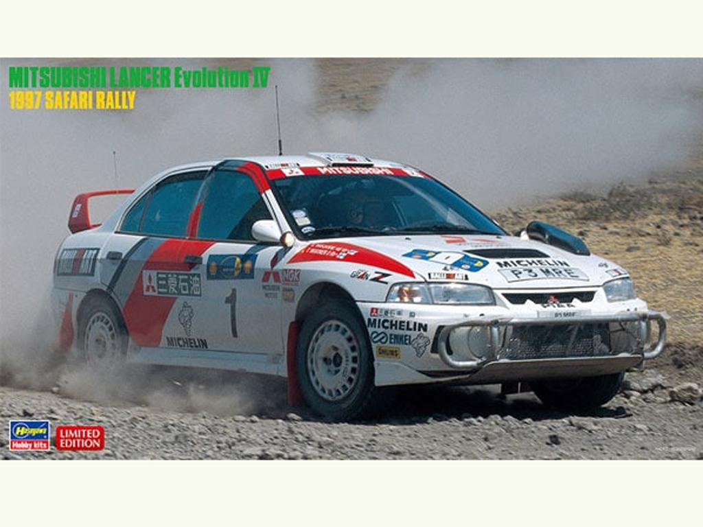 Mitsubishi Lancer Evolution IV 1997 Safari Rally (Vista 1)