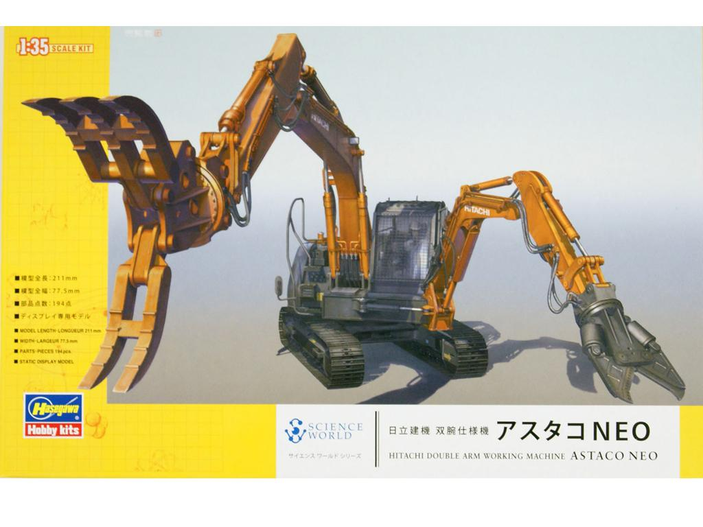 Hitachi Double Arm Working Machine Astaco Neo (Vista 1)