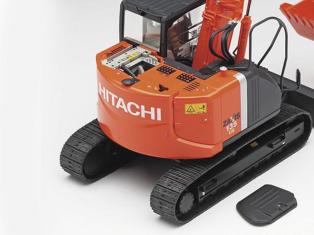 Excavadora Hitachi Zaxis 135US (Vista 8)