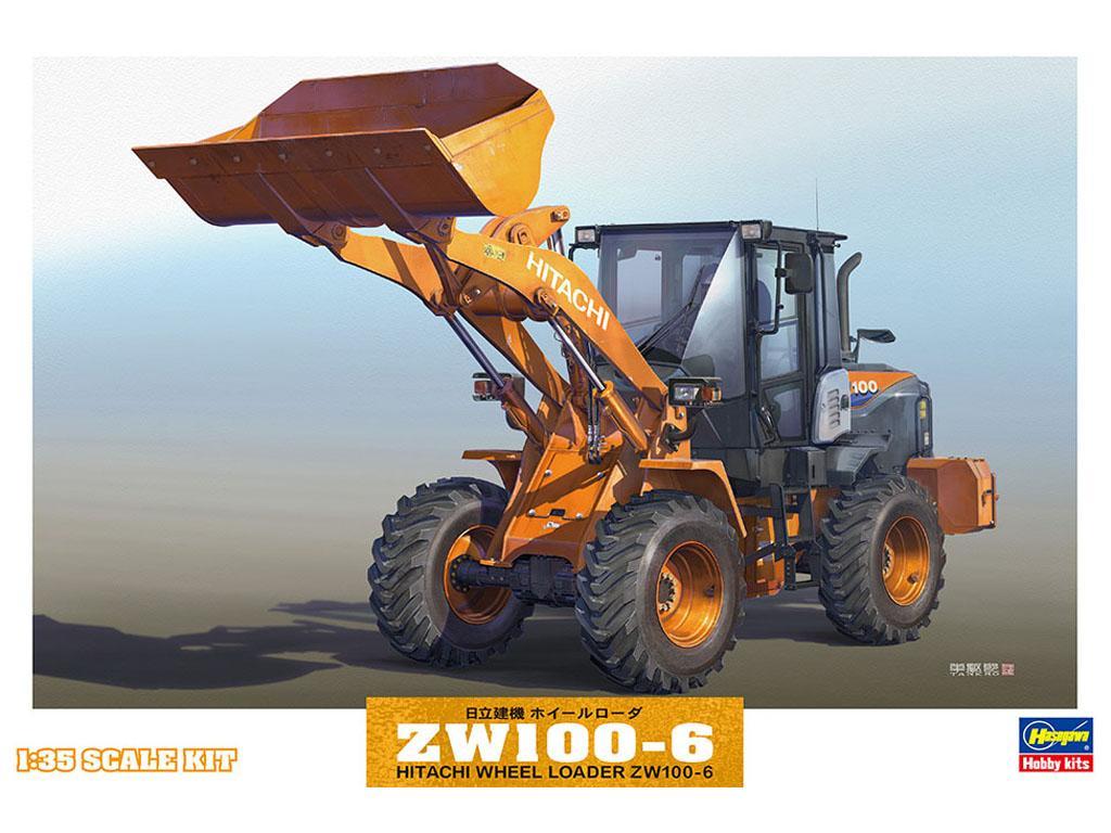 Hitachi Wheel Loader ZW100-6 (Vista 1)