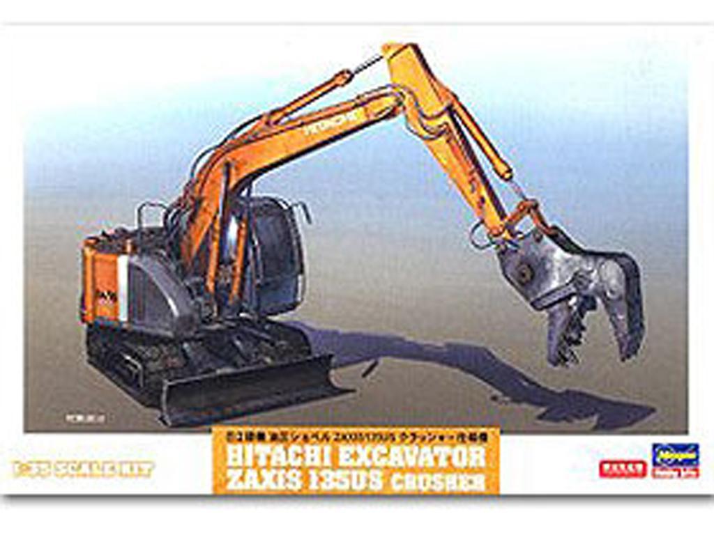 Excavator Zaxis 135US Crusher Type (Vista 1)