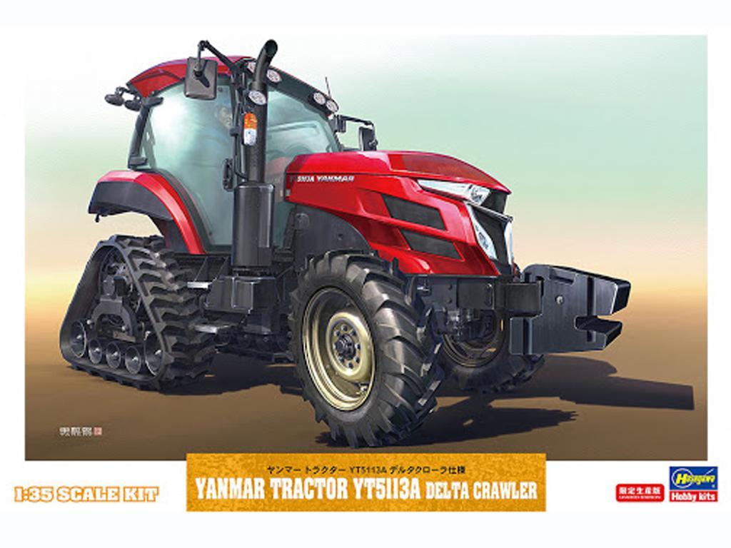 Yanmar Tractor YT5113A Delta Crawler (Vista 1)