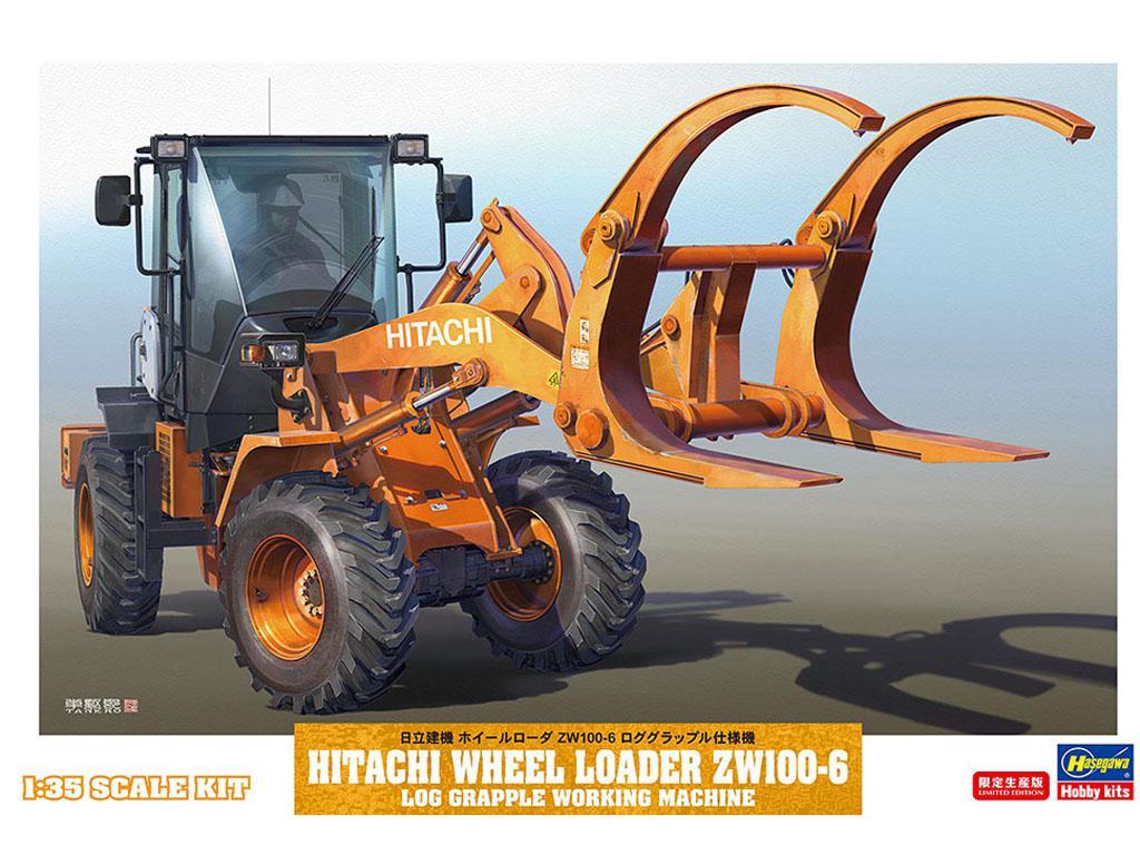 Cargador de ruedas Hitachi ZW100-6  (Vista 1)
