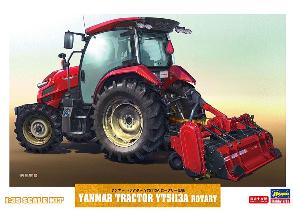 Yanmar Tractor YT5113A Rotary (Vista 1)