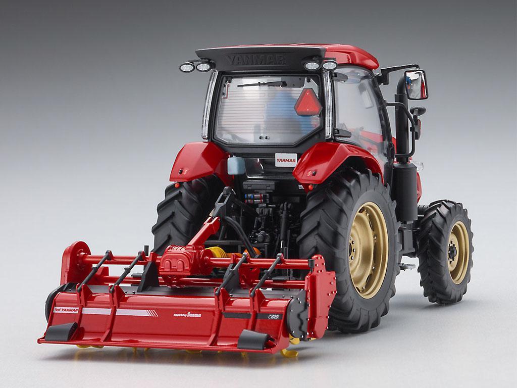 Yanmar Tractor YT5113A Rotary (Vista 2)