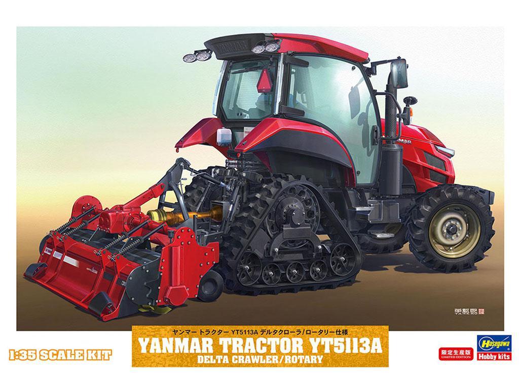 Yanmar Tractor YT5113A Delta Crawler/Rotary (Vista 1)