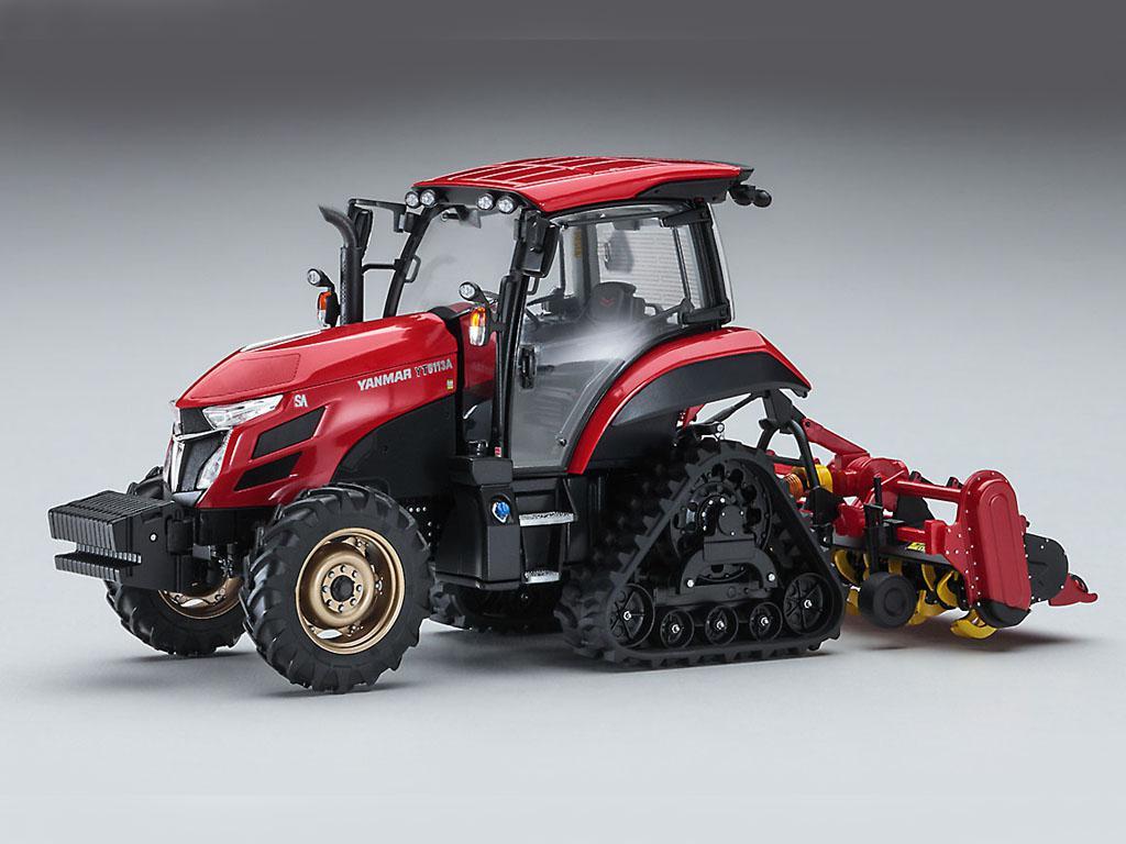 Yanmar Tractor YT5113A Delta Crawler/Rotary (Vista 3)