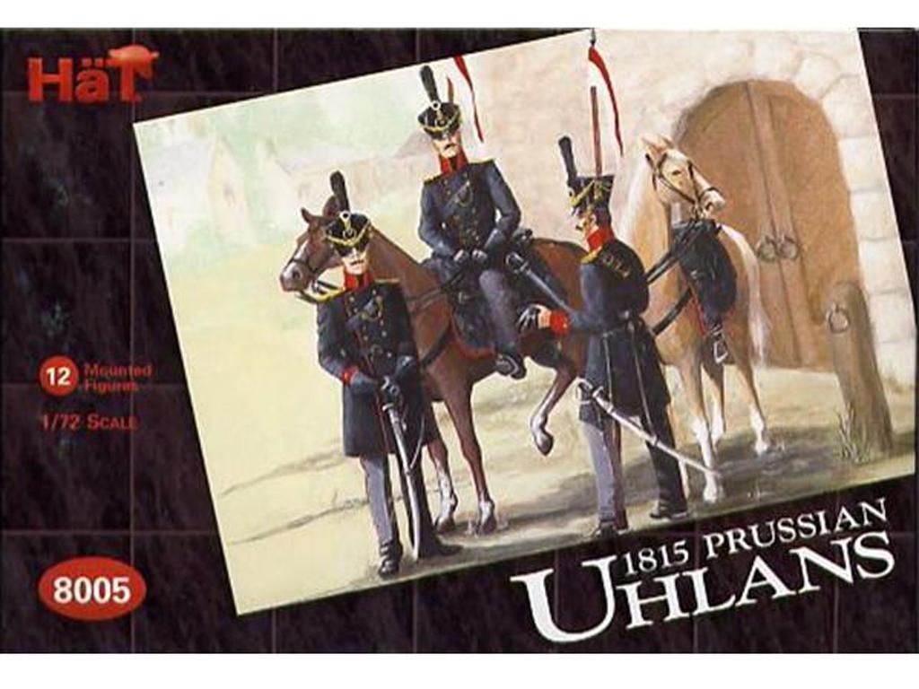 Caballeria Ligera Prusiana : Ulanos 1805  (Vista 1)