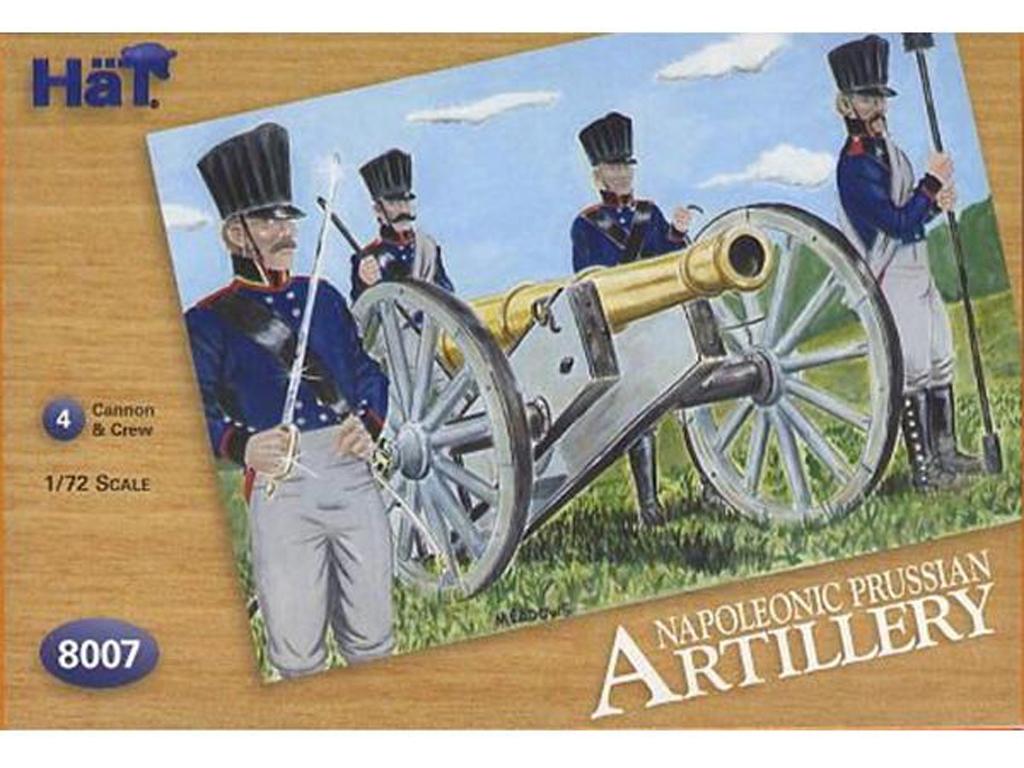Artilleria Prusiana 1805  (Vista 1)