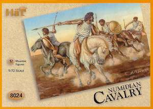 Caballeria Numida - Aliados de Cartago  (Vista 1)