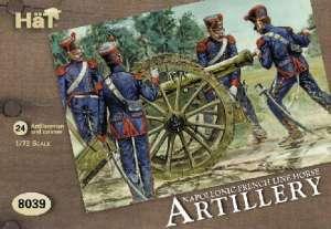 Artilleria Francesa de Linea a Caballo.  (Vista 1)