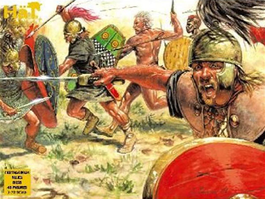 Infanteria Cartaginesa : Tribus Celtas a  (Vista 1)