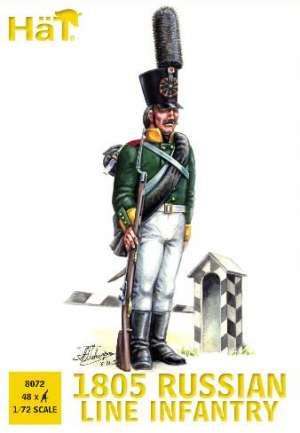 Infanteria de Linea Rusa 1805  (Vista 1)