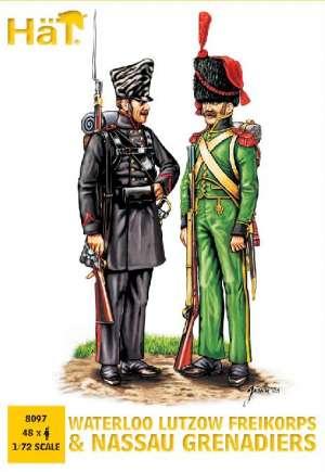 Infanteria de Linea de Lutzow y Nassau.  (Vista 1)