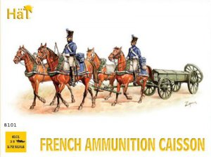 Nap. French Ammunition Caisson  (Vista 1)