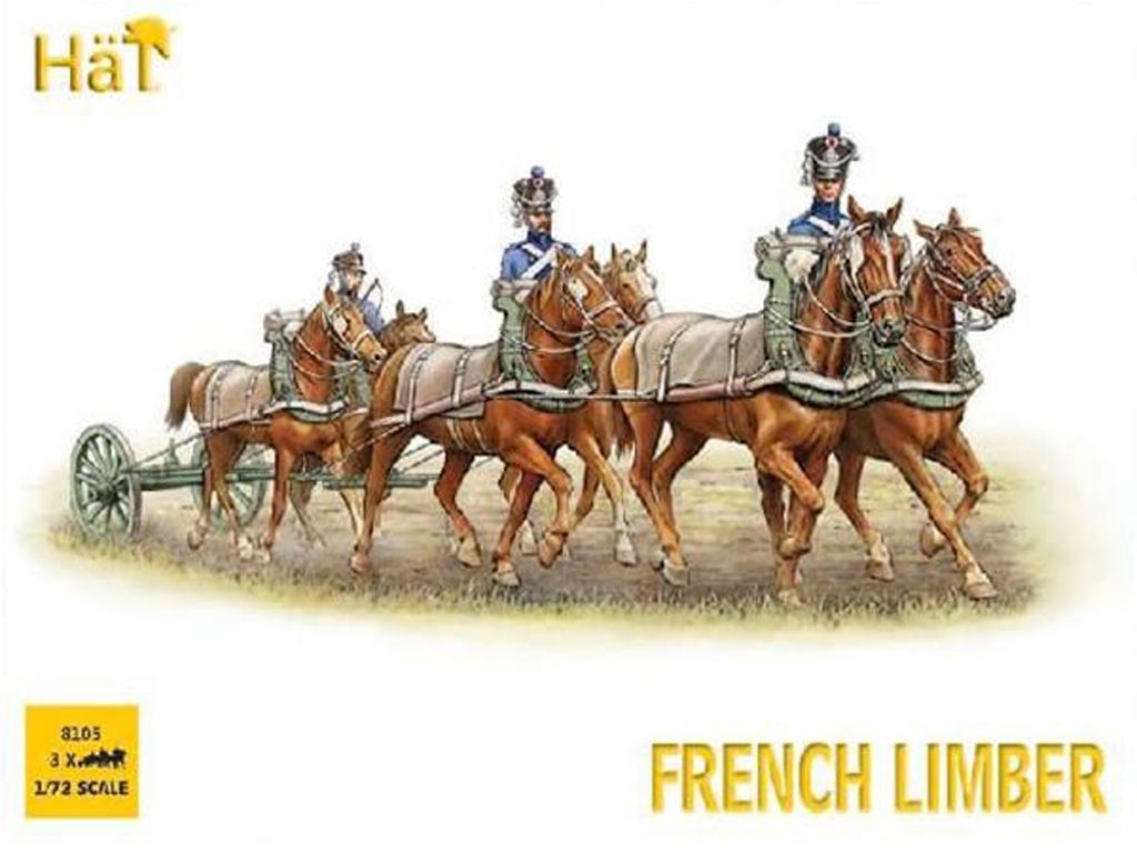 Nap. French 6 Horse Limber Team  (Vista 1)