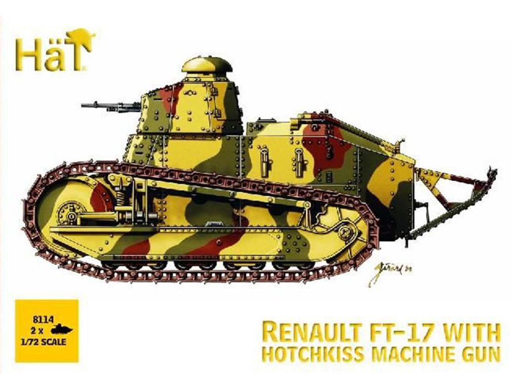 FT-17 con Ametralladora Hotchkiss (x2)  (Vista 1)