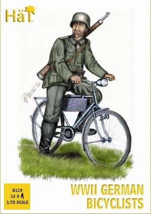 Infanteria alemana en bicicleta - W.W.II  (Vista 1)