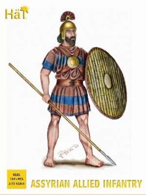 Infanteria Asiria : Auxiliares Aliados  (Vista 1)