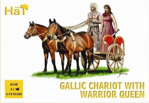 Celtic Chariot with warrior Queen