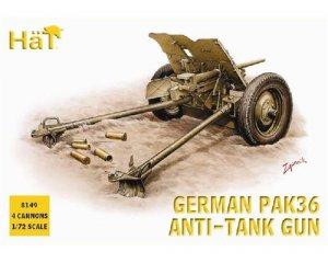 Cañon Aleman Pak36 37mm ATG  (Vista 1)